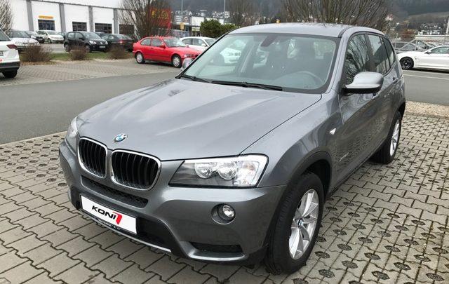 BMW X-Serie jetzt mit Koni FSD Stoßdämpfern
