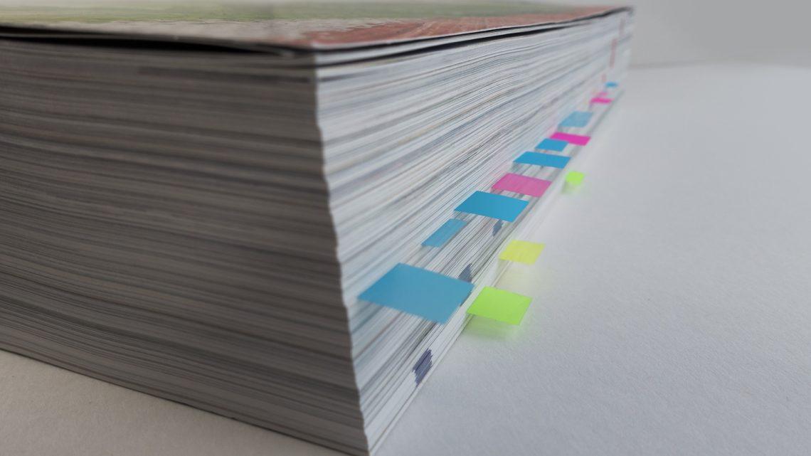 Gedruckter Katalog