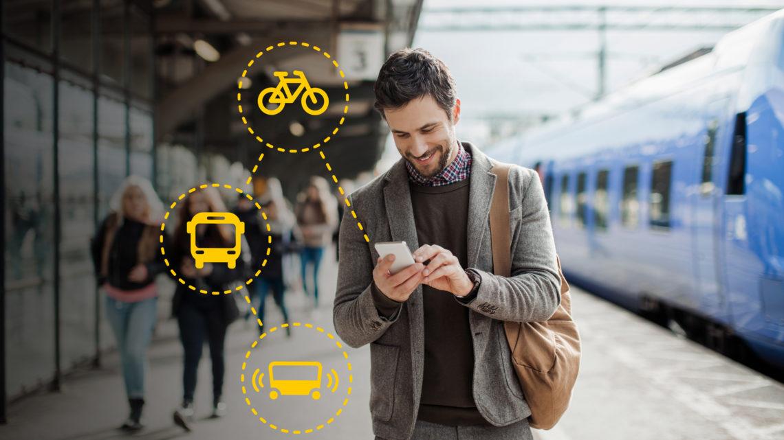 Öffentlicher Transport ohne eigenes Auto