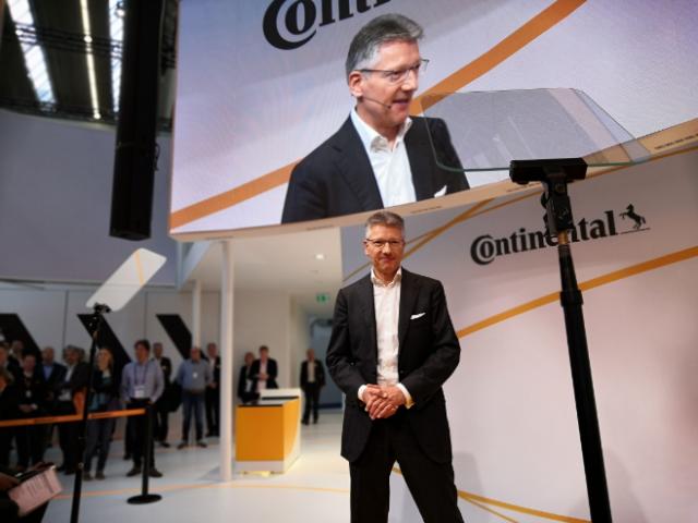 Dr. Elmar Degenhart, CEO Continental