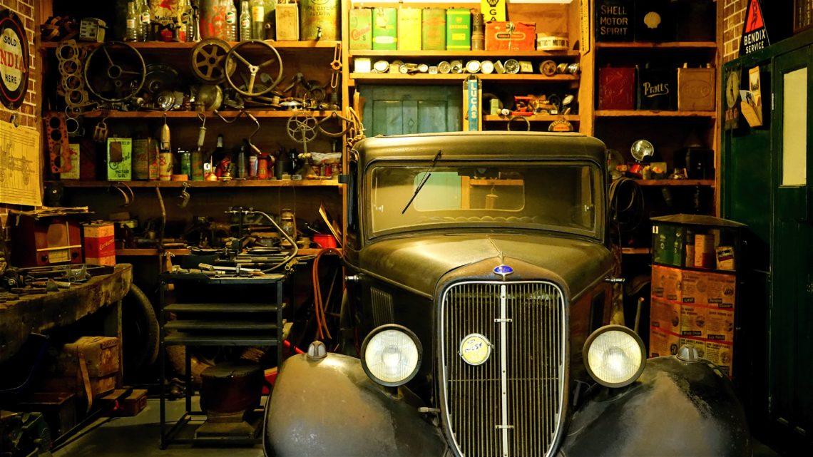 Auto Werkstatt Oldtimer