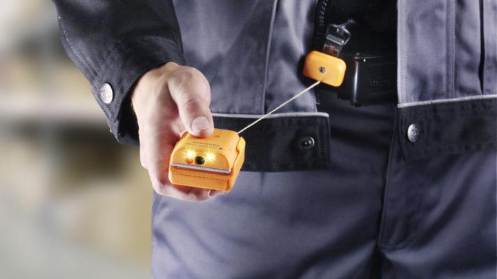 Scanner als Wearable: Reel
