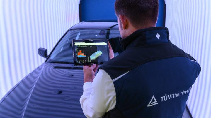TÜV Rheinland: Automatisierte Fahrzeugbegutachtung