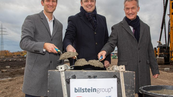 bilstein group Baustart in Gelsenkirchen