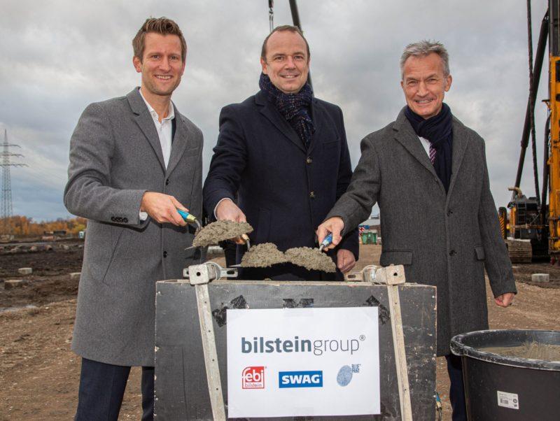 bilstein group Baustart in Gelsenkirchen