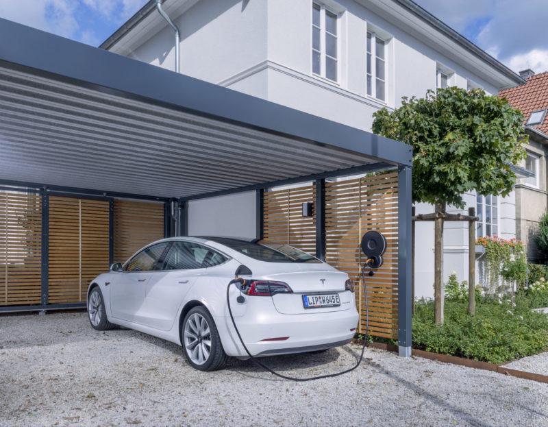 Elektroladesäule für Privathaushalte: Alternative Antriebe kann man mit Design laden