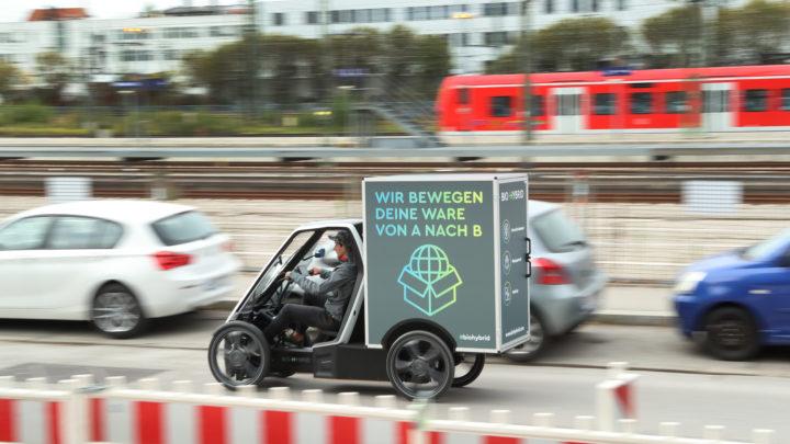 Bio-Hybrid Cargo von Schaeffler