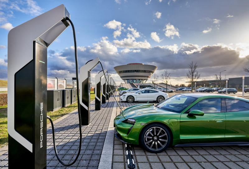 """Ladepark """"Porsche Turbo Charging"""" in Leipzig"""